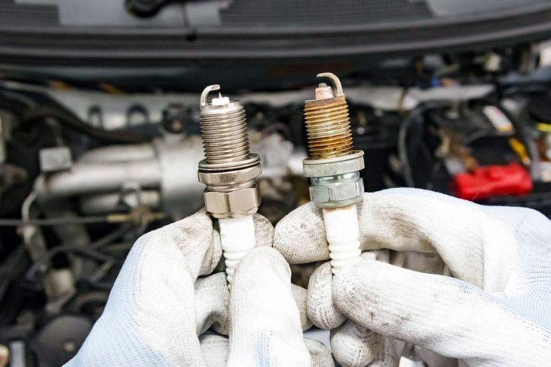 Замена свечей зажигания в автомобиле